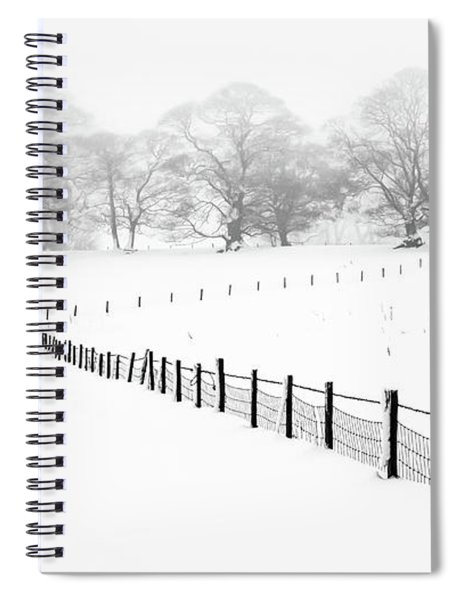 Leading Lines Spiral Notebook