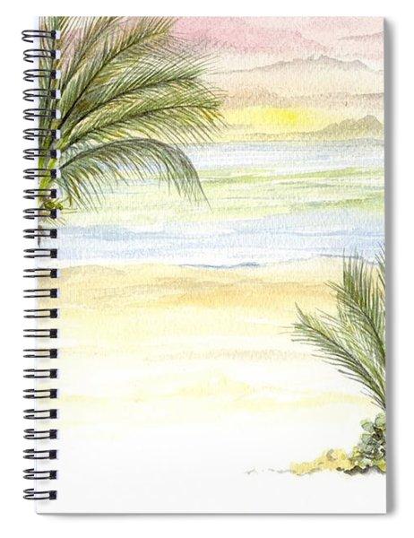 Cayman Beach Spiral Notebook