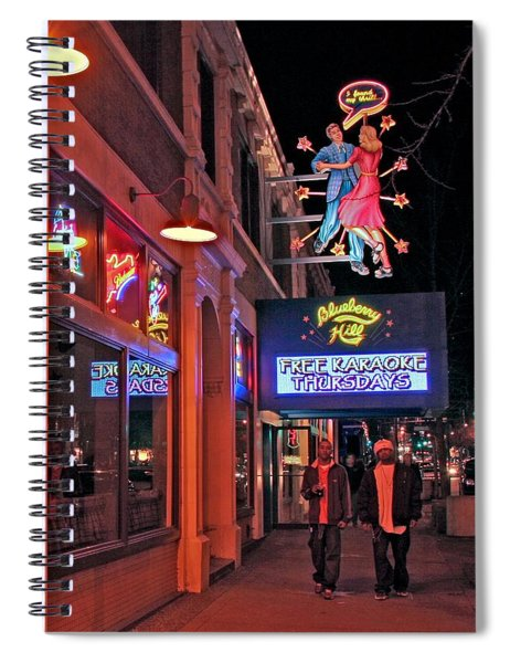 Ceatris Outside Blueberry Hill Spiral Notebook