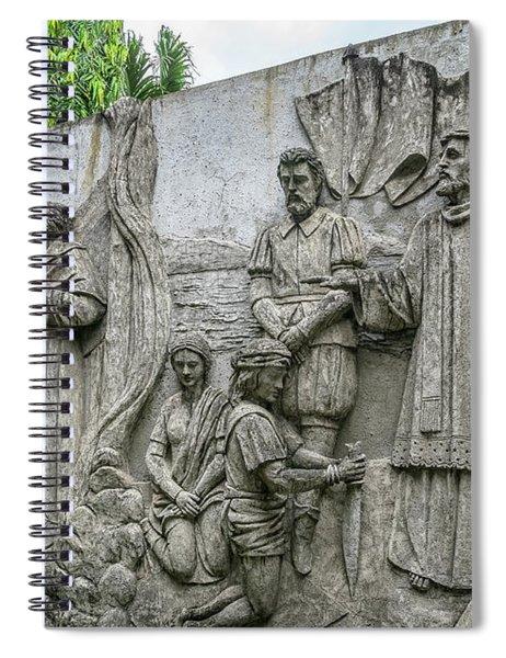 Cebu Carvings Spiral Notebook