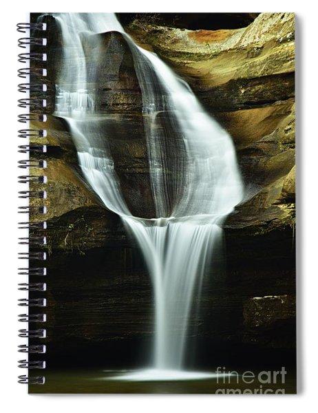 Cedar Falls Closeup Spiral Notebook