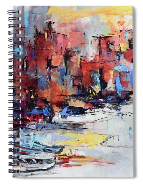 Cefalu Seaside Spiral Notebook