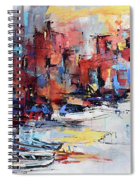 Cefalu Seaside Spiral Notebook