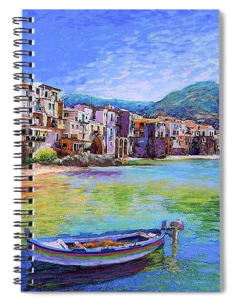 Cefalu Sicily Italy Spiral Notebook