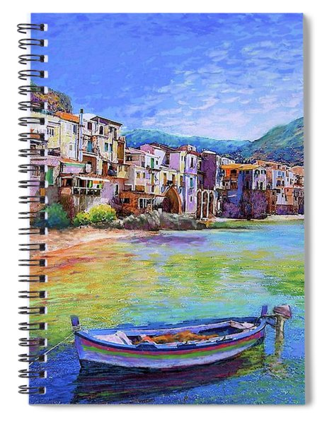 Cefalu Sicily Italy Spiral Notebook