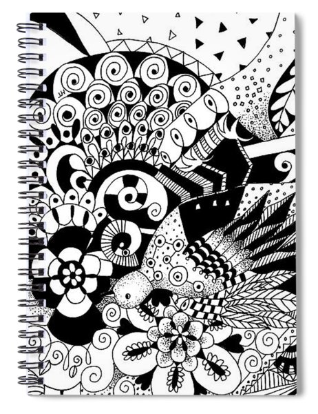 Ceilings And Floors 2 Spiral Notebook