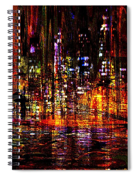 Celebration In The City Spiral Notebook