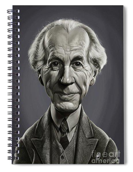 Celebrity Sunday - Frank Lloyd Wright Spiral Notebook