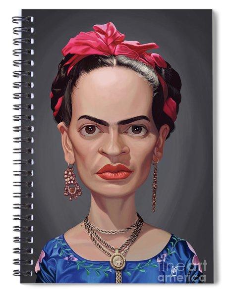 Celebrity Sunday - Frida Kahlo Spiral Notebook