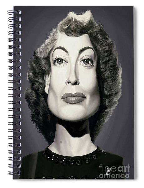 Celebrity Sunday - Joan Crawford Spiral Notebook
