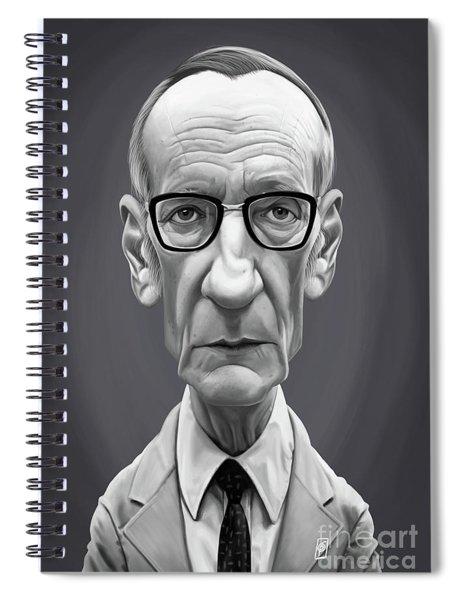 Celebrity Sunday - William Burroughs Spiral Notebook