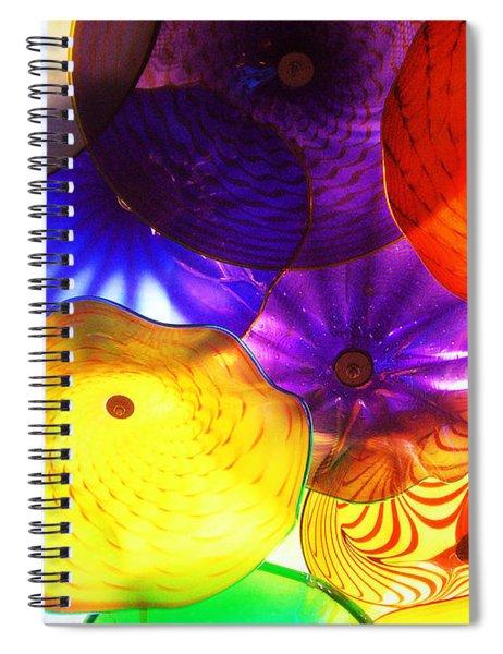 Celestial Glass 3 Spiral Notebook