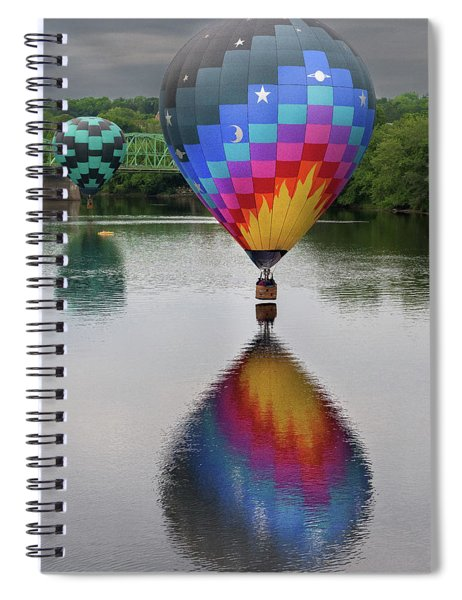 Celestial Reflections Spiral Notebook