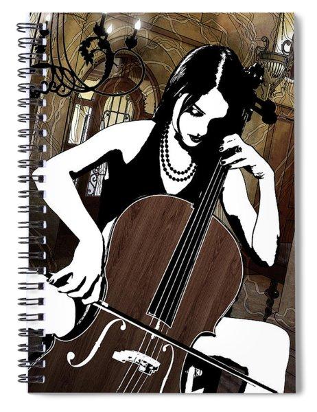 Cellist Spiral Notebook