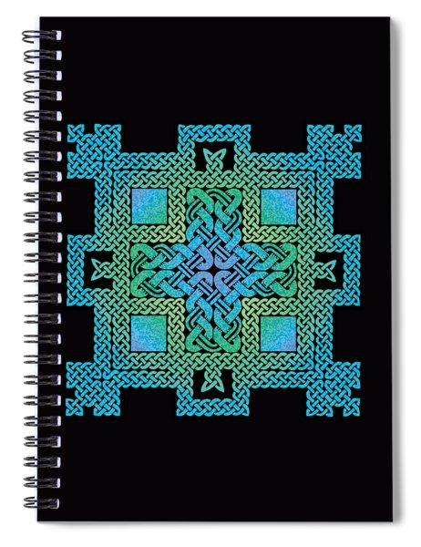 Celtic Castle Spiral Notebook