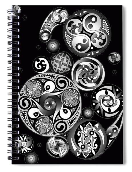 Celtic Clockwork Spiral Notebook