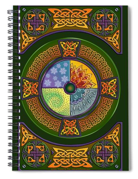 Celtic Elements Spiral Notebook
