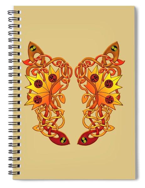 Celtic Loose Leaves Spiral Notebook