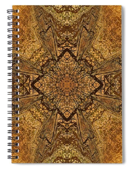 Celtic Mandala Abstract Spiral Notebook