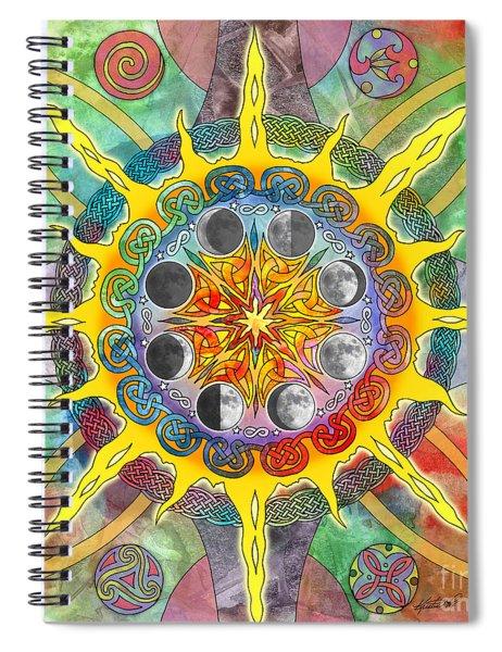 Celtic Stargate Spiral Notebook