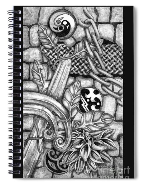 Celtic Surreality Spiral Notebook