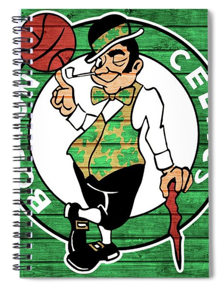 Celtics Barn Door Spiral Notebook
