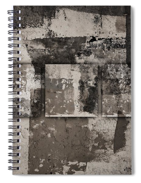 Cement Squares Number Four Spiral Notebook