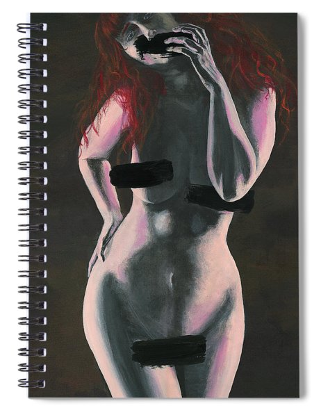 Censored Spiral Notebook