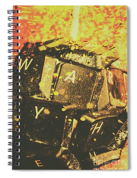 Censorship As A Weapon Spiral Notebook