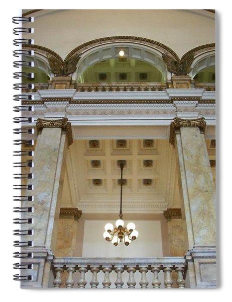 Central Library Milwaukee Interior Spiral Notebook