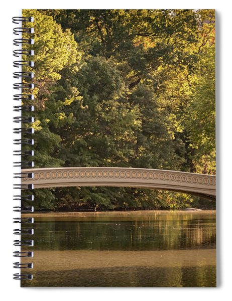 Central Park Bridge Spiral Notebook