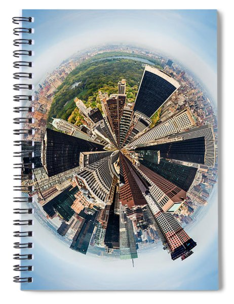 Eye Of New York Spiral Notebook