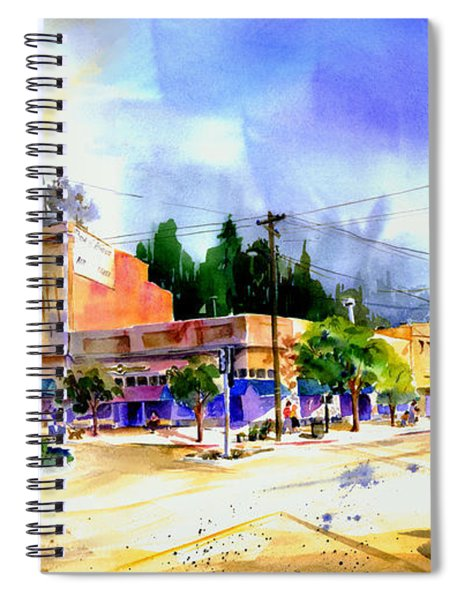 Central Square Auburn Spiral Notebook