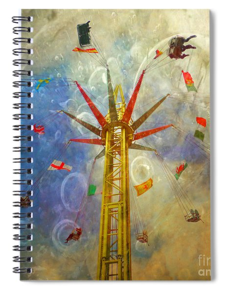Centre Of The Universe Spiral Notebook