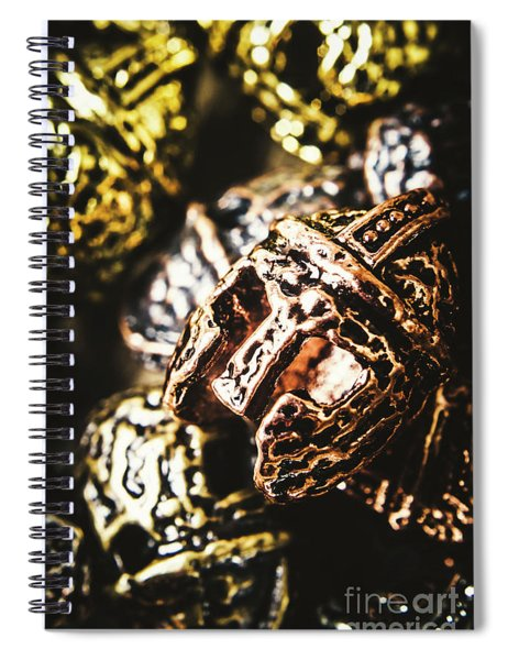 Centurion Of Battle Spiral Notebook