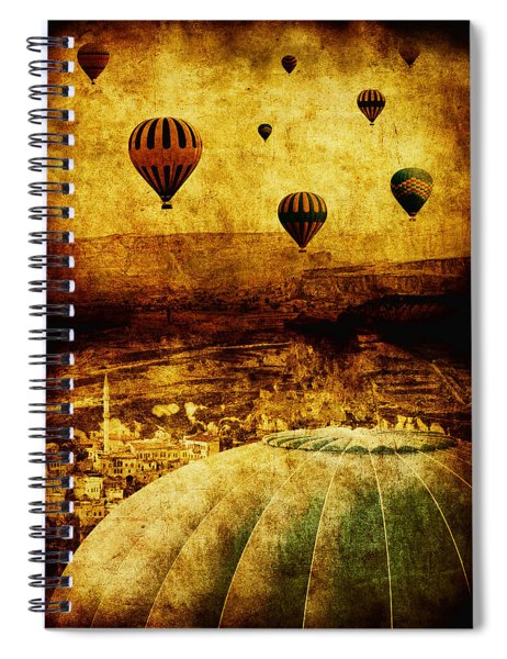 Cerebral Hemisphere Spiral Notebook