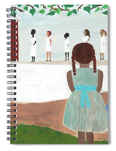 Ceremony In Sisterhood Spiral Notebook