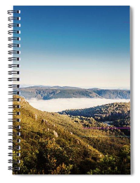 Cethana Range Tasmania Spiral Notebook