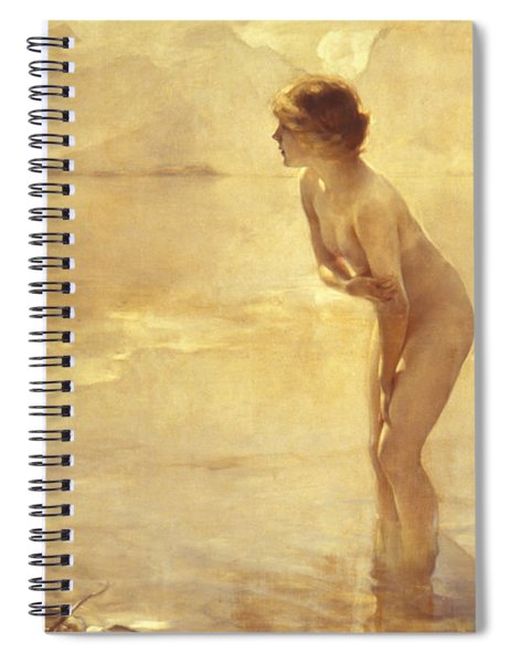 Chabas, September Morn Spiral Notebook