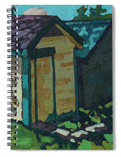 Chaffey Boat Houses Spiral Notebook