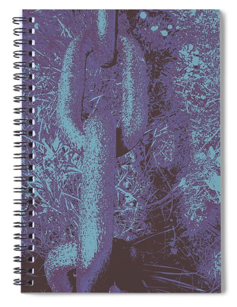 Chain #2 Spiral Notebook