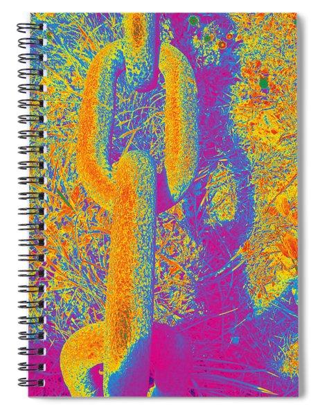 Chain #4 Spiral Notebook
