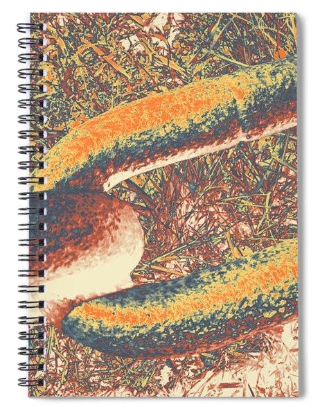 Chain #6 Spiral Notebook