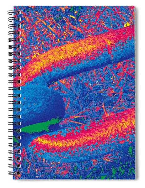 Chain #8 Spiral Notebook