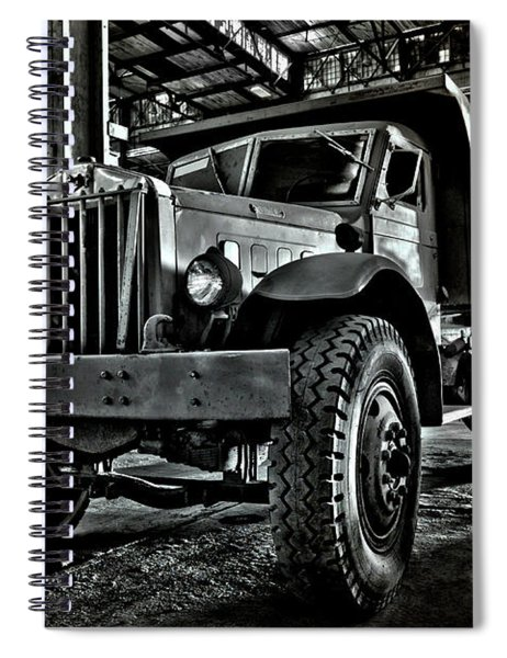 Chain Drive Sterling Spiral Notebook