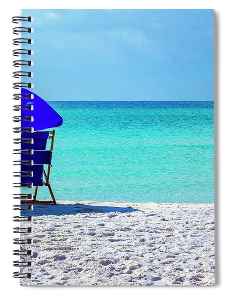 Beach Chair Pair Spiral Notebook