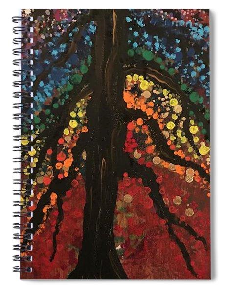 Chakra Tree Spiral Notebook