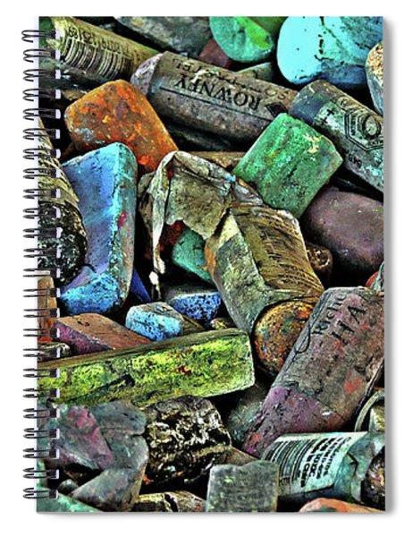 Chalk Spiral Notebook