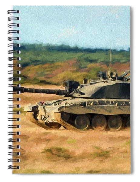 Challenger At Speed Spiral Notebook