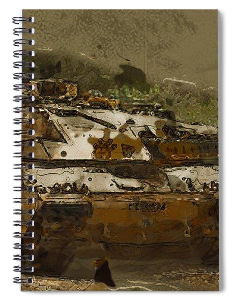 Challenger  Spiral Notebook
